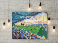 deva stadium  canvas a3 size